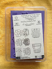 BASKET FULL OF FUN by Stampin Up 2006  NEW! UM Rubber Stamp