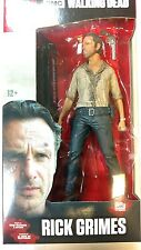 McFarlane The Walking Dead Rick Grimes  7-Inch Deluxe Action Figure   with Stand