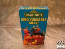 Sesame Street - Sing Yourself Silly! (VHS, 1990)