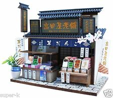 Doll House Handmade kit Japanese Retro Store [Dumpling shop] Billy Japan