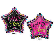 DANCE STAR! Recital Birthday Party Competition Cheer Pom  Balloon