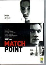 Match point - WOODY ALLEN - Film in DVD- 2005 / 119 min- ST607