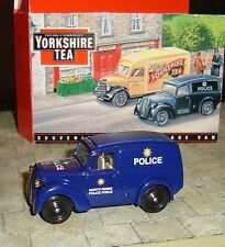 LLEDO -  PROMO - MORRIS Z VAN - NORTH RIDING POLICE- YORKSHIRE TEA -MINT & BOXED