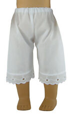 Handmade White Pantaloons Pantalettes for American Girl Doll Clothes
