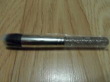 MAC DUO FIBRE BRUSH # 130SE MINERALIZE POWDER FOUNDATION -  GLITTER & ICE HANDLE