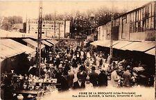 CPA FOIRE DE LA BROCANTE - Rue Biron a St-OUEN (285427)