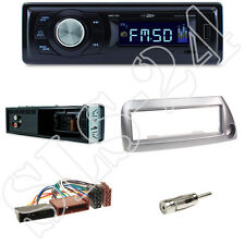Rmd021 CALIBER AUTORADIO + FORD KA (rbt) 09/96-08/08 ouverture argent + ADAPTATEUR ISO