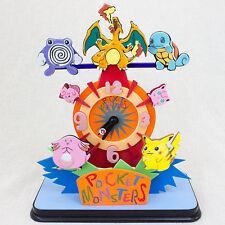 RARE! Pokemon Seesaw Clock Pocket Monsters Pikachu JAPAN ANIME MANGA