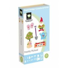 CRICUT *FRESHLY PICKED* SHAPES, WORDS & SIGNS CARTRIDGE *NEW* GARDEN, GNOMES