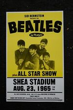 Beatles Tour Poster 1965 Shea Stadium