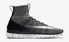 NIKE FREE FLYKNIT MERCURIAL SUPERFLY 805554 004 DARK GREY/SILVER (MEN'S 11.5 Htm