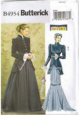 Victorian Early 1900s 20th Century Jacket Skirt Sewing Pattern Plus 16 18 20 22