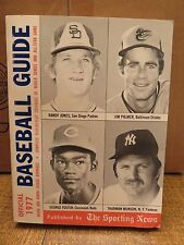 OFFICIAL BASEBALL GUIDE 1977 (The Sporting News)