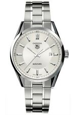AUTNENTIC TAG HEUER CARRERA WV211A.BA0787 AUTOMATIC MENS SILVER WATCH
