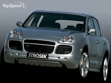 Porsche Cayenne Turbo Strosek style front bumper spoiler + tail lights