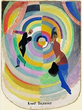 ROBERT DELAUNAY FRENCH POLITICAL DRAMA OLD ART PAINTING POSTER PRINT BB6326A