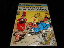 Wasterlain : Docteur Poche 7 : Le petit singe qui faisait des manières EO 1985