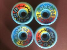NOS Old School Original Kryptonics Micro Reaktors Skateboard Wheels 57mm 95a Set