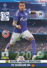 229 BOATENG FC.SCHALKE 04 GHANA CARD CHAMPIONS LEAGUE ADRENALYN 2015 PANINI