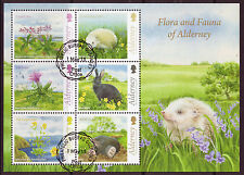 ALDERNEY 2015 FLORA AND FAUNA OF ALDERNEY  FINE USED