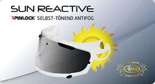 ARAI Tour-X Selbsttönende Sun Reactive Protec-TINT Antifog Scheibe TX Tour -X4