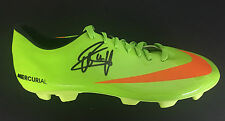 CLARENCE SEEDORF SIGNED HOLLAND JUVENTUS FOOTBALL BOOT+PHOTO PROOF*SEE HIM SIGN*