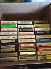 Rock & Classical 8 Track 30 Tapes Elvis, Jethro Tull, Bowie, Clapton +more