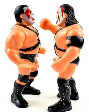 WWF WWE DEMOLITION HASBRO TOY ACTION FIGURES AX SMASH MINT HELMETS ALSO INCLUDED