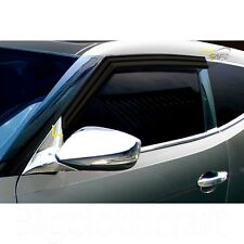 New Smoke Side Window Vent Visors Rain Guards for Hyundai Veloster / Turbo 11-15