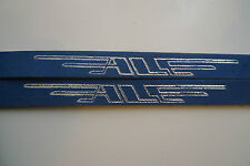 Vintage NOS Classic 80's ALE Italian Pedal Straps BLUE 4 your Colnago Bianchi