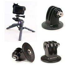 New Black Tripod Monopod Mount Adapter For GoPro HERO 1 2 3 4 Camera Accessories