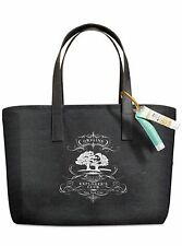 NEW Origins Black Tote Bag w Ginger Hand Cream & Make a Difference Treatment