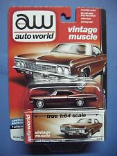 AUTO WORLD VINTAGE MUSCLE #3D 1966 CHEVROLET IMPALA SS