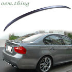 """""""SHIP OUT TODAY"""" PAINTED BMW E90 3er 4D M3 TRUNK BOOT SPOILER WING 11 #A22"""