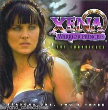 XENA WARRIOR PRINCESS -THE CHRONICLES SEASON 1-2-3 - CD-ROM - NEW