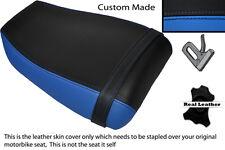 LIGHT BLUE & BLACK CUSTOM FITS KAWASAKI NINJA ZXR 400 91-03 REAR SEAT COVER