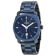 Fossil Machine Blue Dial Mens Watch FS5231