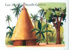 IMAGE CARD 60s TYPE HOUSE  Nouvelle-Calédonie New Caledonia Case de chef