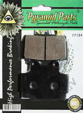 Rear Brake pads to fit: Yamaha FZS600 Fazer 1998-03