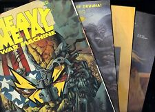 Heavy Metal Specials Lot Pin Up, Software, War Machine, One Step Beyond FN/FN+