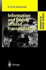Information and Pricing in Road Transportation (Advances in Spatial Science), Ri