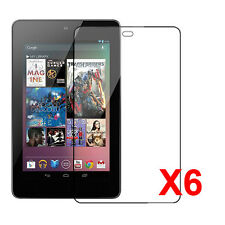 YellowPrice - Google Nexus 7 Tablet Premium HD Clear Screen Protector (6packs)