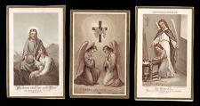 lotto santini-holy cards lot-lot images pieuses-konvolut heiligenbildichen n.29