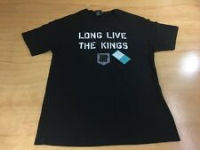 Undefeated UNDFTD Long Live the Kings Tee Shirt L Black Los Angeles Play Dirty