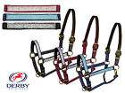 Derby Metallic Triple Ply Overlay Padded Breakaway Safety Halter