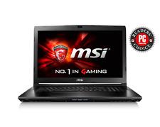 """MSI GL72 6QD 17.3"""" Gaming Laptop Intel Core i5 8GB RAM 1TB HDD GTX 950M Win 10"""