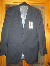 m&s collezione navy wool jacket 38 long brand new & tag lanificio f. lli cerruti