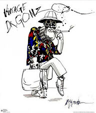 """Ralph Steadman LAMINATED POSTER """"Vintage Dr. Gonzo, Fear Loathing"""" NEW Licensed"""