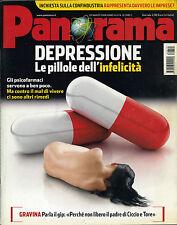 PANORAMA N°12/ 20/MAR/2008 * DEPRESSIONE : LE PILLOLE DELL' INFELICITA' *