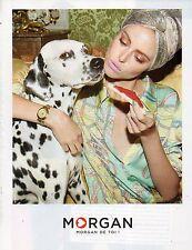 Publicité Advertising 2010  MORGAN  pret à porter collection mode